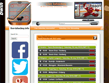 Tablet Preview of live-ishockey.info